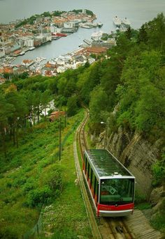 Bergen, Norway.  We didn't ride this.  We stayed and shopped.  I regret this now.