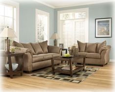 Mocha Sofa Set By Ashley Furniture    Click Image For More Details.Note: