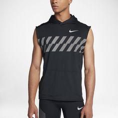 9ec4a5ea45ecba Nike Men s Sleeveless Running Hoodie