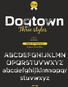 Dogtown Free Font Typeface