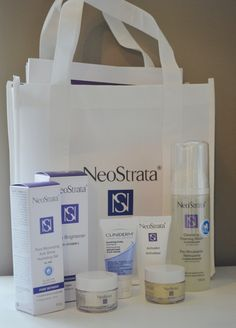 Recently I went to a Neostrata information session, and I learned lots about the brand! In this photo I have some products that I have been trying out, and I've loved every one of them! They really work! Paper Shopping Bag, Make Up, Learning, Products, Maquillaje, Maquiagem, Teaching, Makeup, Education