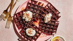 Gluten-Free Chocolate Buckwheat Waffles Recipe | Bon Appetit