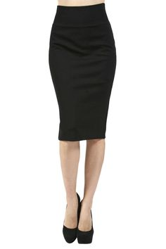 67e74f77b Women Career Banded High Waist Bodycon Midi Knee Length Pencil Straight  Skirts - Size Type:Juniors/Young Contemporary - Runs one size smaller than  the ...