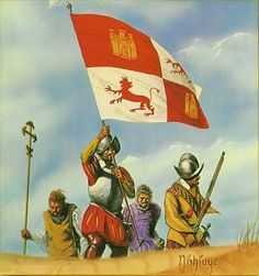 The Flag of Spain - Conquistadors Conquistador, Military Art, Military History, Spain History, Spanish Galleon, Terra Nova, Mexican Army, Spanish Heritage, Thirty Years' War