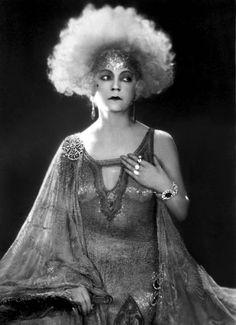 Asta Nielsen (1881 – 1972) Danish silent film actress