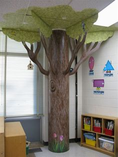 So making this for VBS this year! Classroom Tree via:Jefferson Elementary School: Trees / Kindergarten Rms. by Deborah Zwickler, via Behance Paper Tree Classroom, Classroom Door, Future Classroom, Classroom Ideas, Clean Classroom, Classroom Layout, Classroom Organization, Kindergarten, Spring Tree