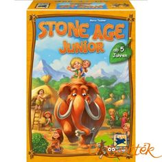 "Shop Hans im Glück 48258 ""Stone Age Junior Children's Games. Stone Age Board Game, Hans Im Gluck, 999 Game, Your Best Friend, Kids Playing, Gifts For Kids, Board Games, Children, Bubo"