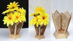 Foto Vas Bunga Dari Stik 30 Ide Kreatif Cara Membuat Vas Bunga