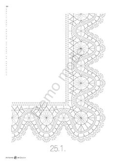 Encaixe Galego Tradicional - Mary Moya - Picasa Web Albums Crochet Edging Patterns, Bobbin Lace Patterns, Lacemaking, Needle Lace, Crochet Necklace, Album, Crafts, Sign, Paint