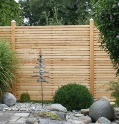 eleganter, exklusiver sichtschutz aus bambus – anbieterinfo, Garten seite