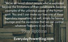 27 Tony Robbins Quotes That Will Change How You Behave