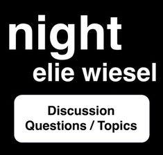 Night essay questions