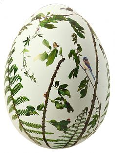 Elliptical Nest by Jan Dunning   Tobe auctioned in aid of Action for Children by The Big Egg Hunt. Auction closes 31 Mar 2013