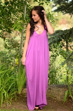 Gypsy Soul Maxi Dress- Orchid