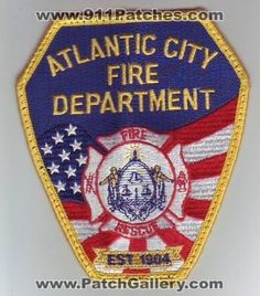 ACFD fire fighters' uniform patch