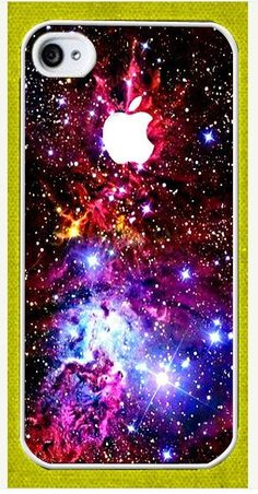 iPhone 5 case - Fox Fur Nebula Galaxy Space iPhone Hard Case-graphic Iphone case