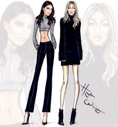 Kendall & Gigi by Hayden Williams #ModelsoftheMoment