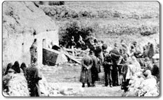 Wynne Photos of the Eviction, Belcarra Eviction Cottage, County Mayo, Ireland 1886