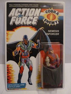 Action Force / GI Joe Nemesis Enforcer Cobra La Team MOC MIB Carded Custom • £49.00 - PicClick UK