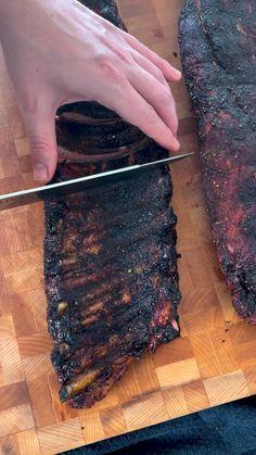 Smoked Meat Recipes, Smoked Pork, Rib Recipes, Great Recipes, Dinner Recipes, Summer Grilling Recipes, Barbecue Recipes, Smoking Recipes, One Pan Meals