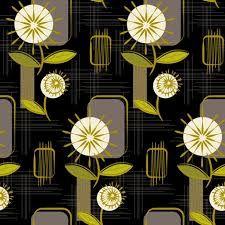 Resultado de imagem para mid century flower