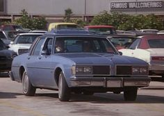 1982 Oldsmobile Delta 88; a gift from aunti zelma