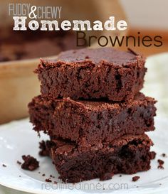 Rich, and absolutely delicious. These brownies are perfect on their own, but with ice cream and hot fudge...forget about it!