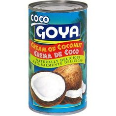 The ingredient that you can not miss to prepare the Piña Colada and the traditional dessert, Rice with Coconut or Rice Pudín with Coconut. Goya Coco adds incredible creaminess, texture and authentic flavor to these specialties. Coconut Milk Recipes, Coconut Sauce, Coconut Cream, Gourmet Recipes, Vegan Recipes, Snack Recipes, Homemade Ranch Seasoning, Puerto Rico Food, Types Of Fruit