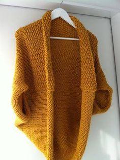 bolero tricot et crochet fais maison