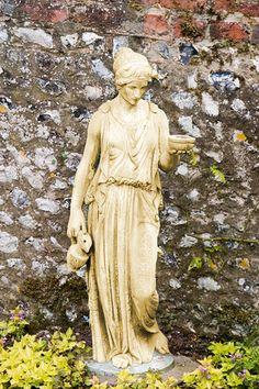 Garden statue of Greek hand-maiden by Pete_Sy, via Flickr