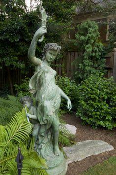 Wonderful garden statue