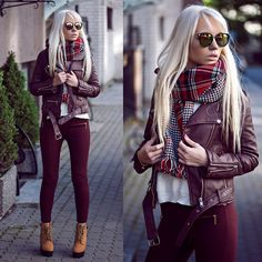 Get this look: http://lb.nu/look/7886834  More looks by Oksana Orehhova: http://lb.nu/oksiger  Items in this look:  Zero Uv Sunglasses, Bornprettystore Scarf   #casual #minimal #street