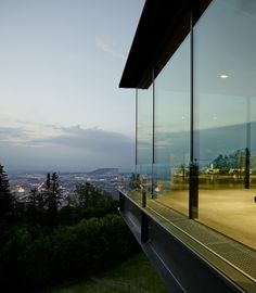 Image 8 of 28 from gallery of Gurten Pavilion (Gupa) / :mlzd. Photograph by Alexander Jaquemet Contemporary Architecture, Landscape Architecture, Interior Architecture, Interior Design, Outdoor Curtains, Hospitality Design, Bern, Event Venues, Location