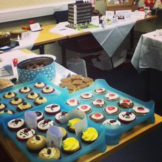 #DerbyUni staff take part in charity Bake-Off to raise funds for Red Nose Day Photo by derbyuni