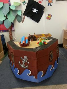 Preschool-Pirate Dramatic Play Area