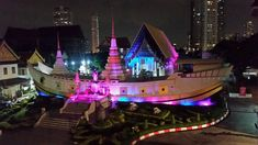Wat Yannawa, one of the oldest in Bangkok on the river close to BTS Saphan Taksin station  - Bangkok SM Hub Rooftop Bangkok, How To Use Hashtags, View App, Buddhist Temple, Bangkok Thailand, Temples, Night Life, Places To Travel, Trip Advisor