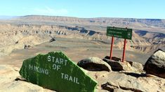 Hiking Fish River Canyon in Namibia - Traveling German Places Around The World, Around The Worlds, Africa Travel, Hiking Trails, Continents, Adventure Travel, The Good Place, National Parks, Scores