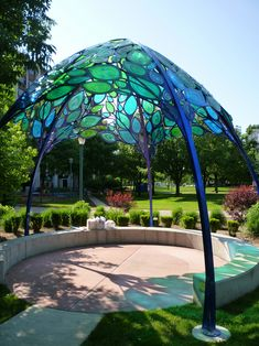 Reading Nook : Children's Hospital of Michigan, installation by Tork. (Also check out their trees; they're beautiful!)