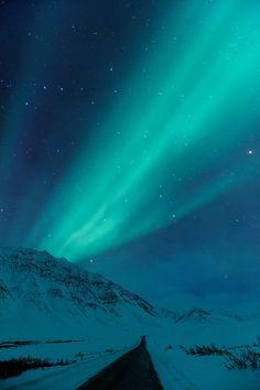 Aurora Borealis, Dalton Highway, Alaska.
