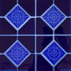 Cobalt Blue Akron, x Deco - Porcelain Pool Tile Arizona Pools, Pool Finishes, Blue Pool, Deco Blue, Floral Centerpieces, Cobalt Blue, Interior And Exterior, Special Gifts, Mosaic