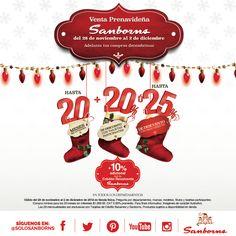 Ven a la venta prenavideña solo en Sanborns. #Sanborns #Navidad #Preventa