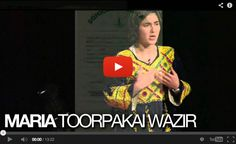 "TEDxTeen 2013 :: WATCH Maria Toorpakai Wazir ""Squashing Extremism"" :: Born November 22, 1990 in South Waziristan, the tribal Pashtun region bordering Pakistan and Afghanistan, Maria Toorpakai Wazir's options as a young girl were severely limited and determined solely by the traditions of her culture. Waziristan's women are not entitled to the kind of education or freedoms enjoyed..."