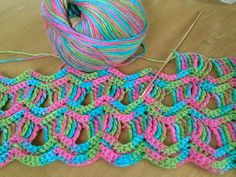 Ravelry: becamarie1's Vintage Fan Ripple Stitch Pattern