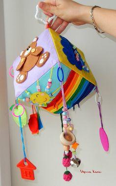 Baby Sensory, Sensory Toys, Baby Cubes, Sensory Blocks, Activity Cube, Cube Toy, Felt Bunny, Felt Sheets, Montessori Activities