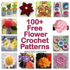 100+ Free Flower Crochet Patterns
