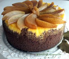 Cheesecake alle pere di Francy