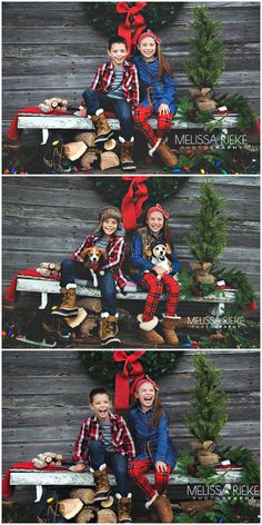 Fence along backyard. Use hay with a blanket to sit on. Christmas Pictures Outfits, Christmas Photo Props, Xmas Photos, Family Christmas Pictures, Christmas Backdrops, Christmas Portraits, Christmas Mini Sessions, Holiday Pictures, Christmas Minis
