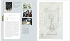 Star Wars: The Blueprints is a collection fo detailed technical schematic diagrams of everything from R2 to Jaba's throne.