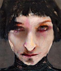 Lita Cabellut: Mixed Media — Daily Art Fixx - Art Blog: Modern Art, Art History, Painting, Illustration, Photography, Sculpture