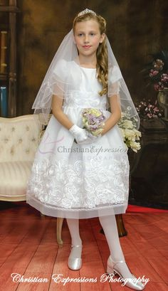 f296266c40c 13 Best First Communion Dress Style Tabitha images